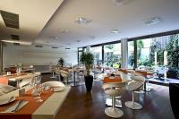 Elegantes Restaurant im Design Hotel Lanchid 19 in Budapest