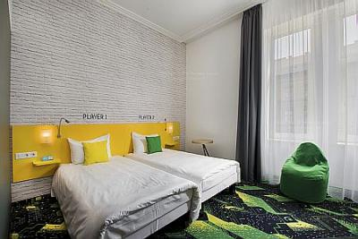 Ibis Styles Budapest Center - angenehmes Zweibettzimmer -Ibis Styles Budapest Center in Stadtzentrum Budapest - Ibis Styles Budapest Center*** - 3 Sterne Hotel in Budapest